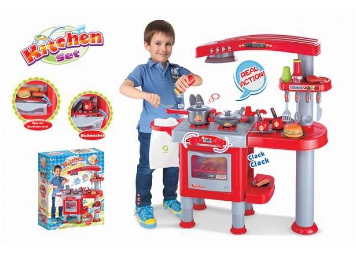 Dětská kuchyňka velká s příslušenstvím