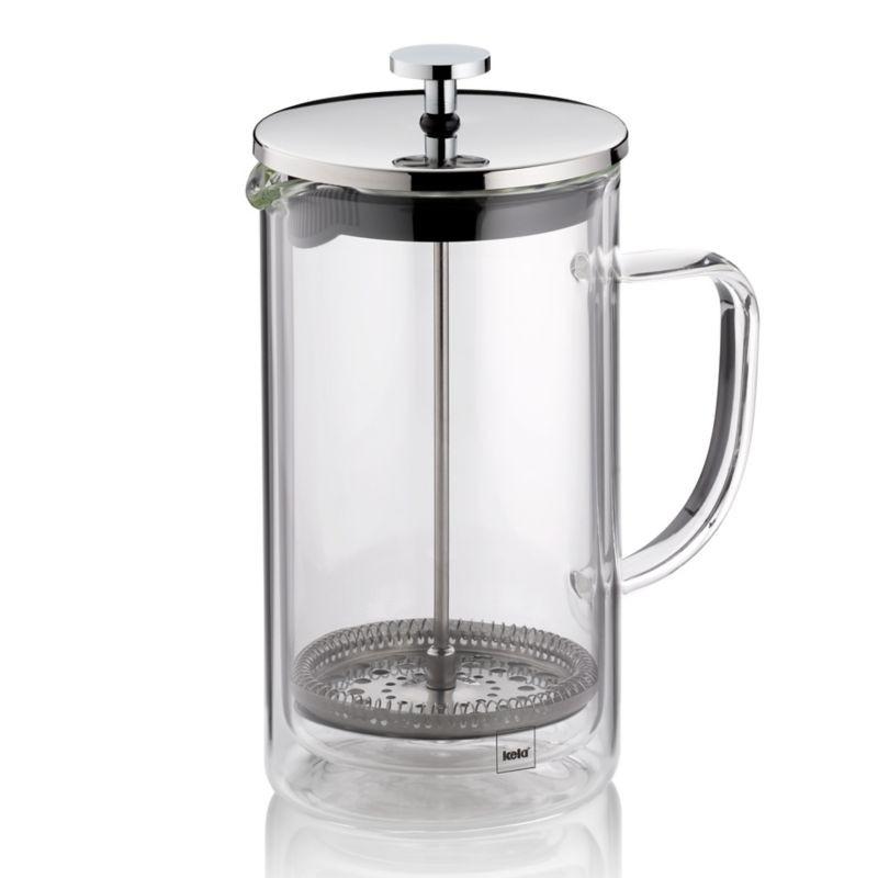 Levně Konvička na čaj a kávu French Press VINCI 950 ml