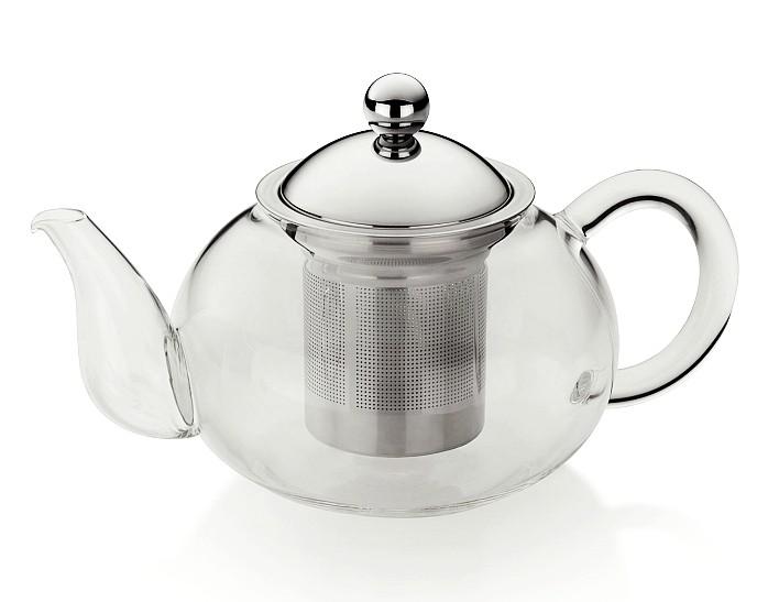 Konvice na čaj ARIANA sklo/nerez 700ml KELA KL-10837