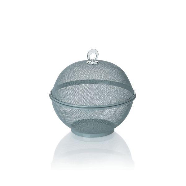 Koš na ovoce s poklopem COMO 26,5 cm, šedý KELA KL-11449