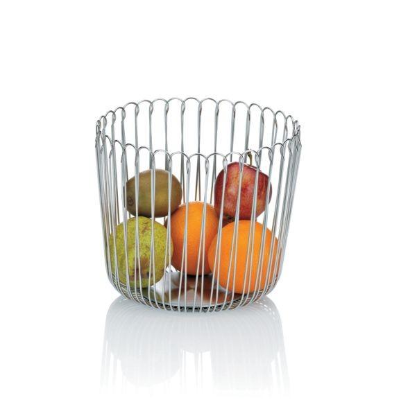 Koš na ovoce PRATO ušlechtilá ocel 20x18cm KELA KL-11498