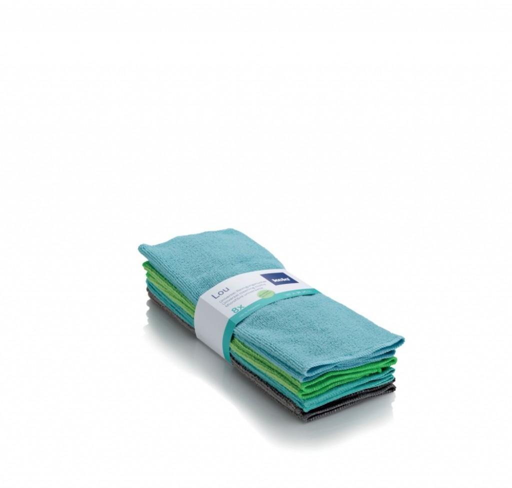 Univerzální utěrky LOU, polyester, 8ks KELA KL-11684