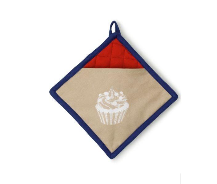 Chňapka čtvercová FRIDA 100% bavlna cupcake 20x20cm KELA KL-11763