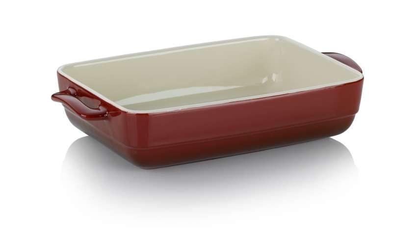 Zapékací mísa MALIN 19 x 32 cm červená KELA KL-11862