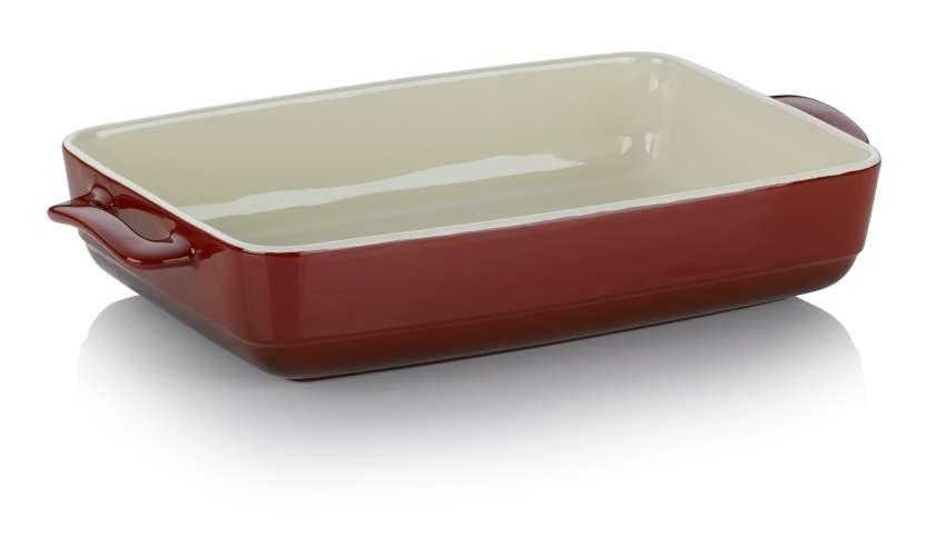 Zapékací mísa MALIN 22 x 37,5 cm červená KELA KL-11863