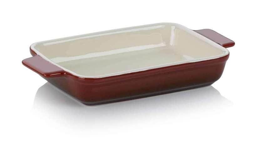 Zapékací mísa MALIN 10,5 x 18,5 cm červená KELA KL-11867