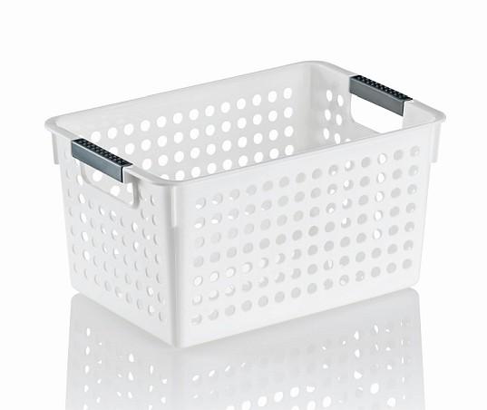 Úložný košík MIKA plast 27x18x14cm