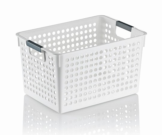 Úložný košík MIKA plast 31x22x17,5cm