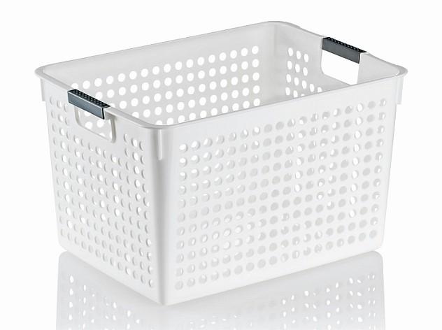 Úložný košík MIKA plast 35,5x25,5x21,5cm