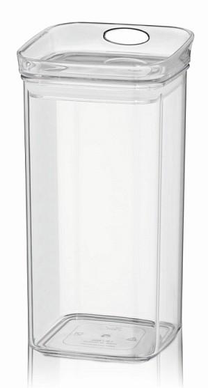 Dóza skladovací JULE plast 1.2l hranatá KELA KL-12052