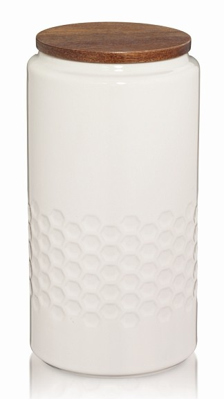 Levně Dóza MELIS keramika 1.3l krémová KELA KL-12085