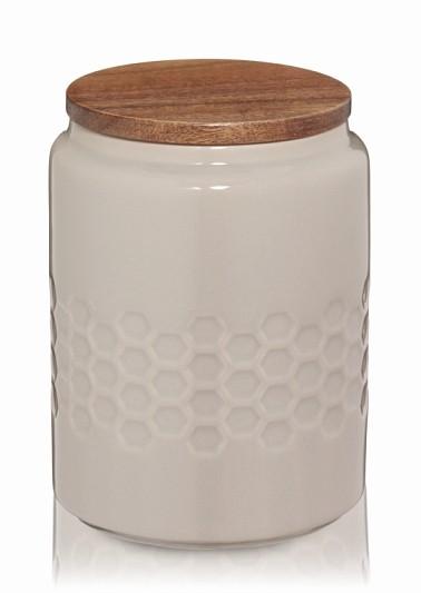 Dóza MELIS keramika 0.8l šedá KELA KL-12086