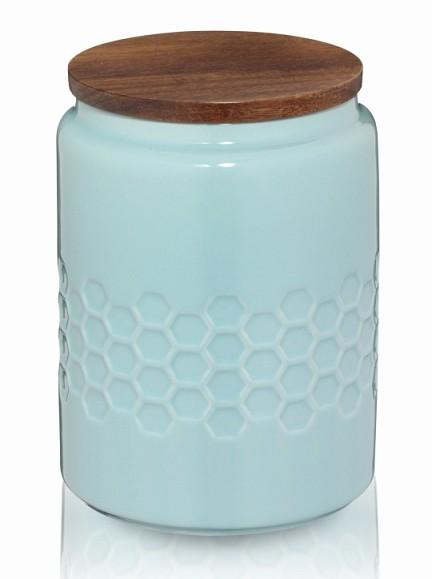 Dóza MELIS keramika 0.8l pastelově modrá KELA KL-12088