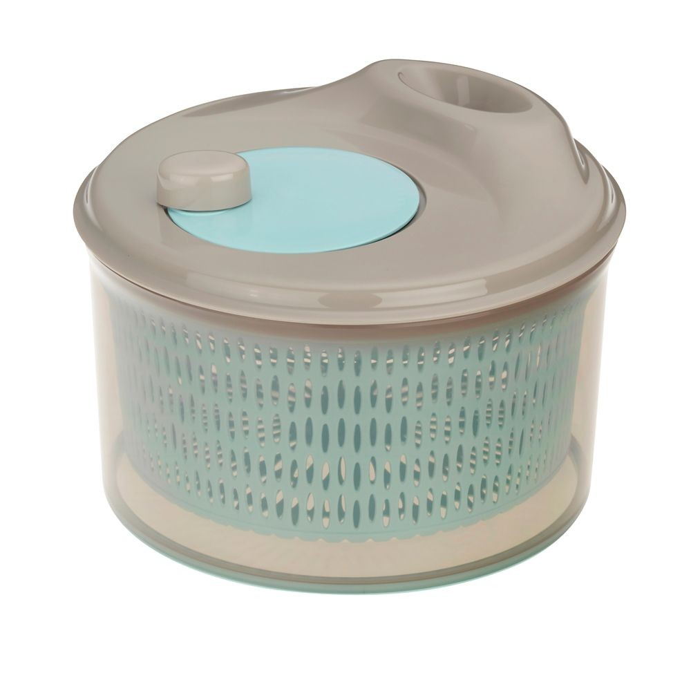 Odstředivka na salát DRY PP-plastik, pastelově modrá H 16cm / Ř 24cm