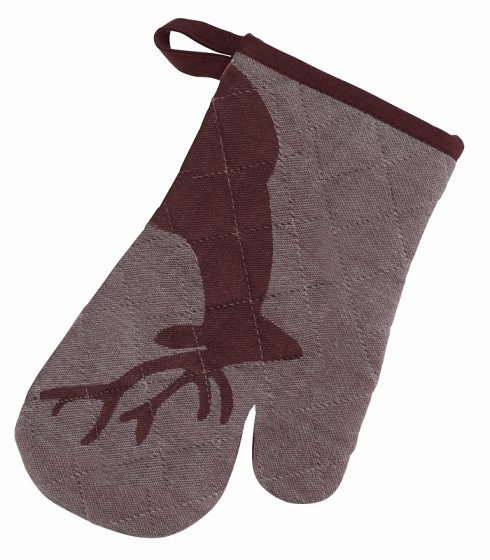 Chňapka rukavice HENRIK hnědá 28x18cm KELA KL-12288