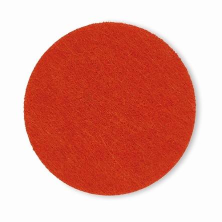 Podtácek ALIA filc sada 4ks oranžová