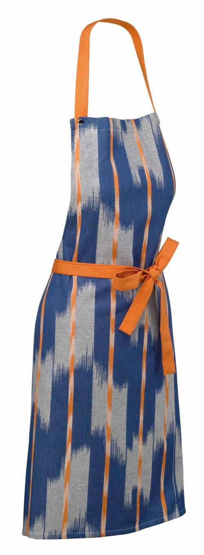 Zástěra ETHNO 100% bavlna, modrá, 67x80cm KELA KL-12440