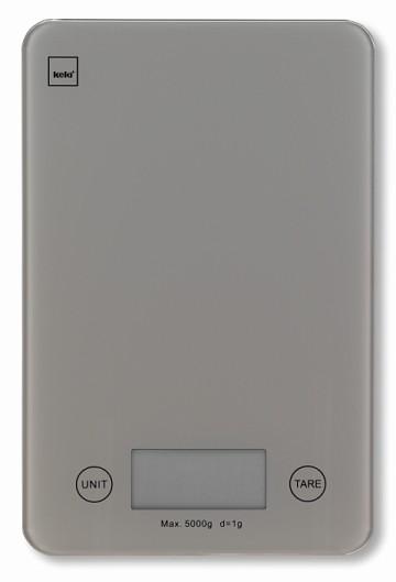 Kuchyňská váha PINTA digitální šedá 5 kg