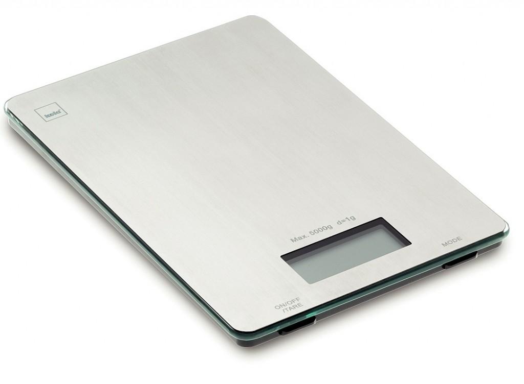 Váha kuchyňská digitální 5 kg PIA nerez KELA KL-15746