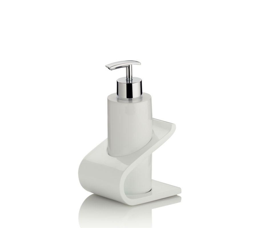Dávkovač mýdla LIAM bílá KELA KL-20062
