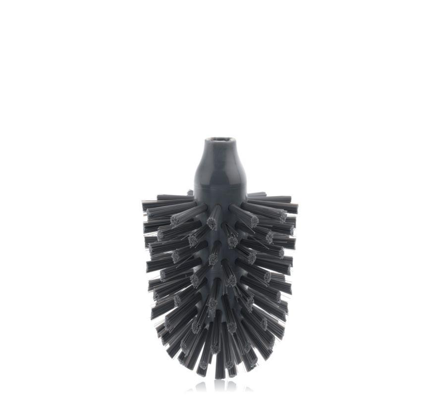 WC kartáč náhradní LA BROSSE tm.šedá plast KELA KL-20159