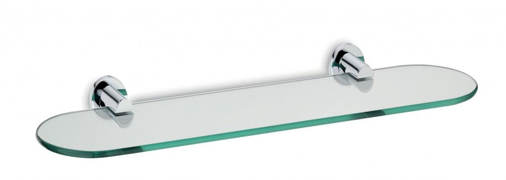 Police MAKIRA chromovaná mosaz / bezpečnostní sklo 15 x 45cm KELA KL-20273
