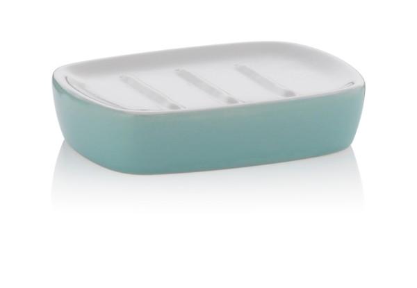 Miska na mýdlo LINDANO keramika mentolová KELA KL-20335