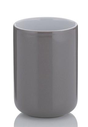 Pohár ISABELLA keramika šedohnědá KELA KL-20505