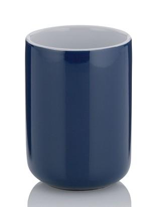 Pohár ISABELLA keramika tm.modrá KELA KL-20509