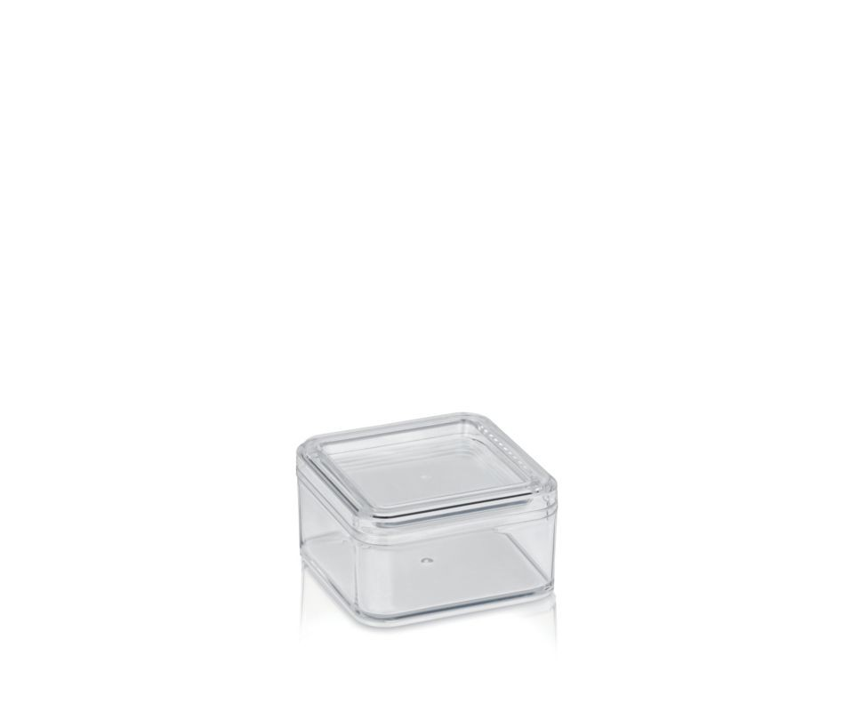 Kosmetická dóza ELINA plast 9x9x5cm KELA KL-20520