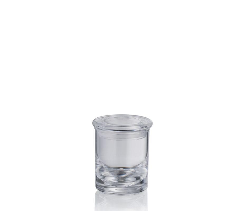 Dóza s víčkem LETICIA akrylové sklo 6,5x7,5cm KELA KL-20549