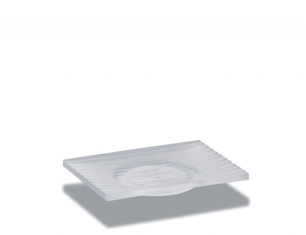 Miska na mýdlo LAMINA akrylové sklo KELA KL-20600