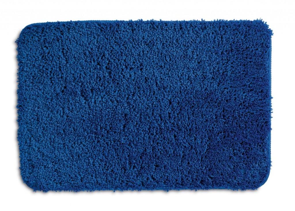 Koupelnová předložka LIVANA 100% polyester 100x60cm modrá KELA KL-20693