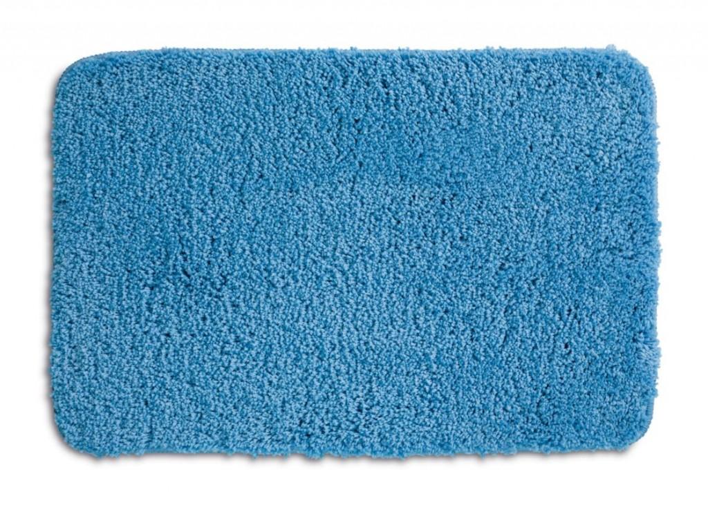 Koupelnová předložka LIVANA 100% polyester 65x55cm sv. modrá