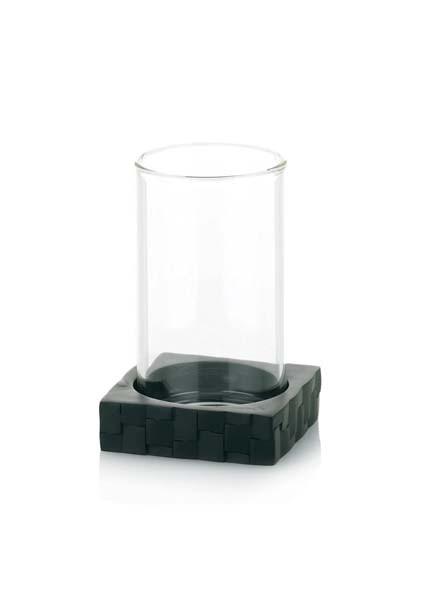 Pohár ANGERS sklo umělý kámen KELA KL-21362