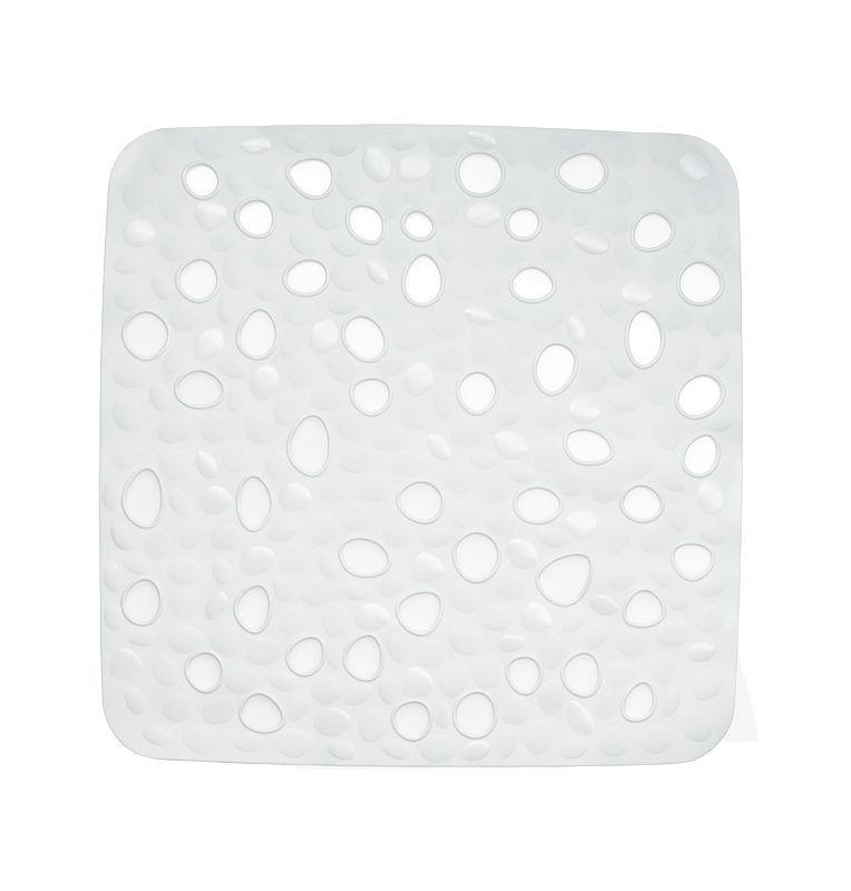 Protiskluzová podložka do sprchy Nevada bílá KELA KL-22140