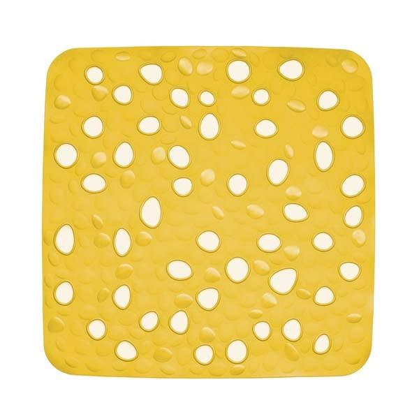 Protiskluzová podložka do sprchy Nevada žlutá