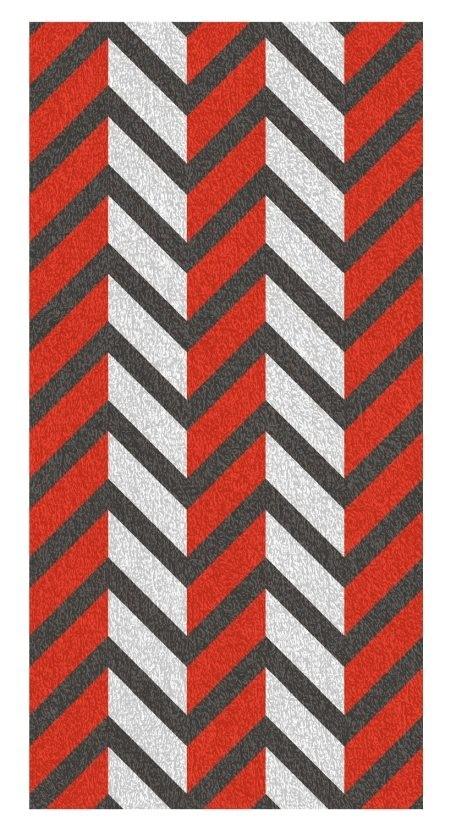 Osuška LADESSA, 100% bavlna, červená 70x140cm KELA KL-22204