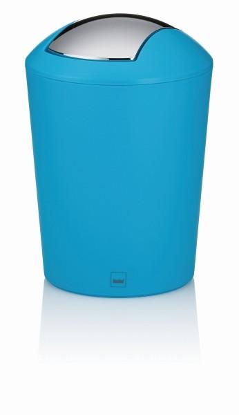 Koš kosmetický MARTA plast tyrkysová 1,7 L