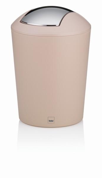 Koš kosmetický MARTA plast krémová 1,7 L