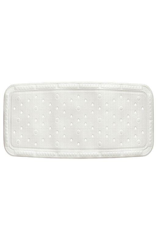 Vanová podložka KRETA PVC bílá 92x36cm