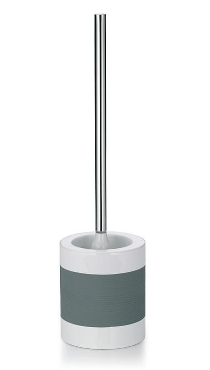 WC sada LALETTA keramika guma nerez 18/10 šedá KELA KL-22438