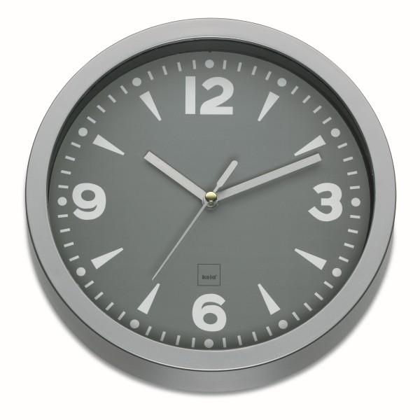 Nástěnné hodiny FLORENZ 20 cm šedá