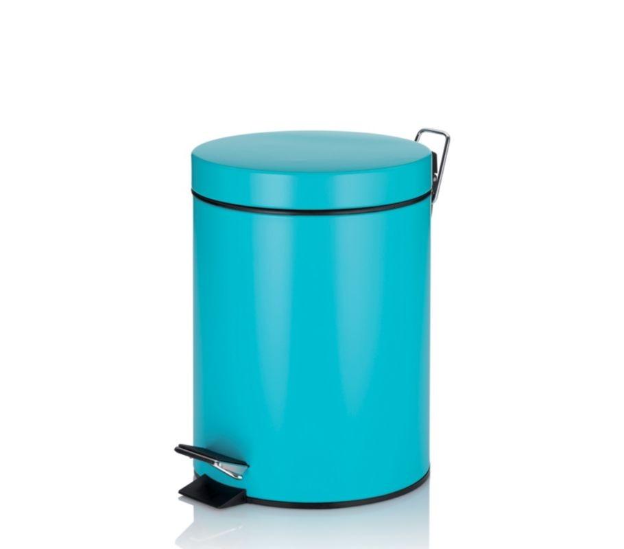 Kosmetický koš CLEO kov tyrkysová 5 L KELA KL-22946