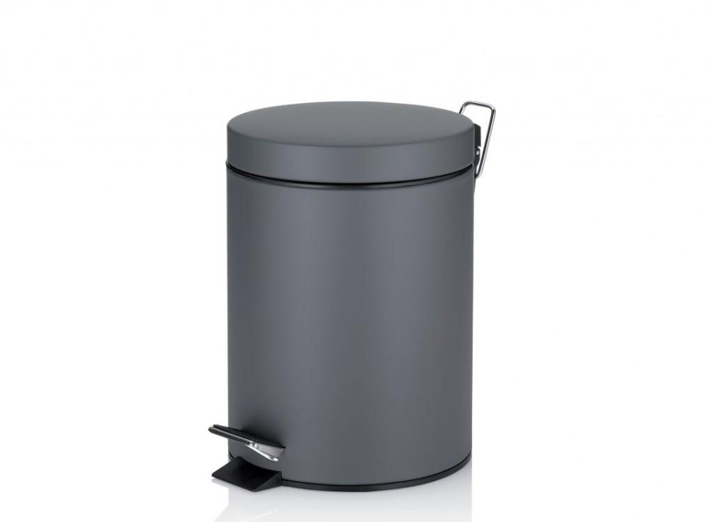 Kosmetický koš STEN kov tm.šedá 5 L KELA KL-22949