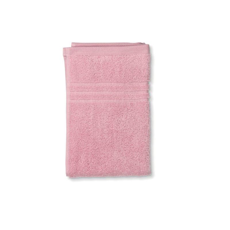 Ručník LEONORA 100% bavlna, růžová 30x50cm