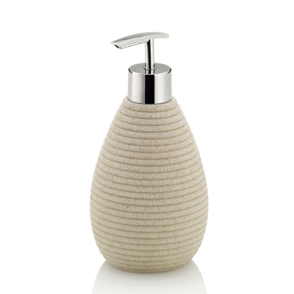Dávkovač mýdla MEDEA poly béžová H 17,5cm / Ř 8,5cm / 300 KELA KL-24103