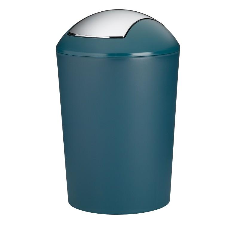 Odpadkový koš MARTA plastik petrolejová H 50cm / Ř 32cm / 25 KELA KL-24168