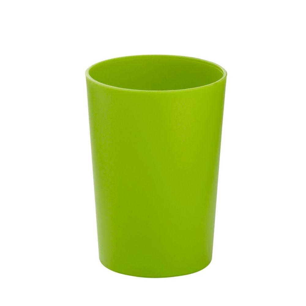 Pohár MARTA plastik zelená H 11cm / Ř 8cm KELA KL-24171