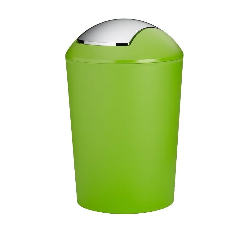 Odpadkový koš MARTA plastik zelená H 50cm / Ř 32cm / 25 KELA KL-24173